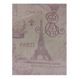 Paris -- Eiffle Tower Postcard