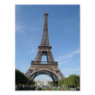 Paris - Eiffle Tower Poster