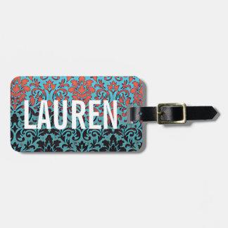Paris Elegant Custom Luggage Tag MONOGRAM