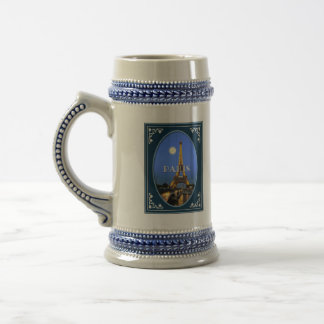 Paris Evening Beer Stein
