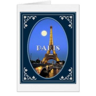 Paris Evening Card