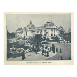 Paris Expo 1900, Champs Elysees Petit Palais Postcard