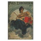 Paris Exposition 1900 - vintage French ad art Tissue Paper