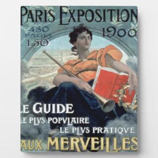 Paris Exposition 1902 BC Plaque
