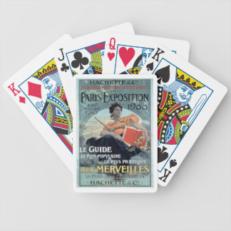 Paris Exposition 1902 BC Poker Deck