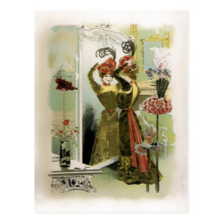 Paris Fashions  ~ Postcard / Invitation / RSVP #18