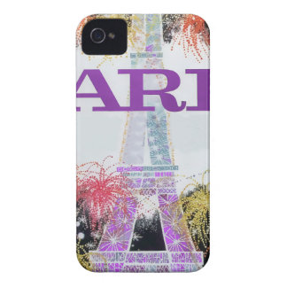 Paris Fireworks iPhone 4 Covers