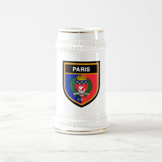 Paris Flag Beer Stein