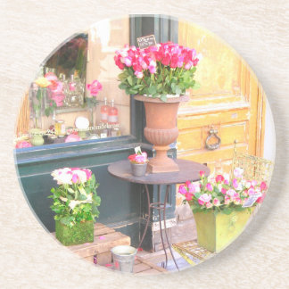 Paris Flower Shop Coasters