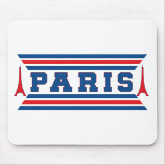 Paris football mouse pad
