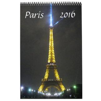 paris france 2016 calendars