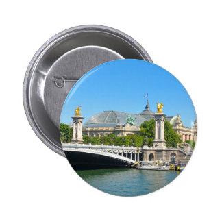 Paris, France 2 Inch Round Button