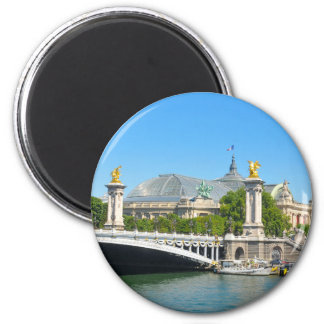 Paris, France 2 Inch Round Magnet