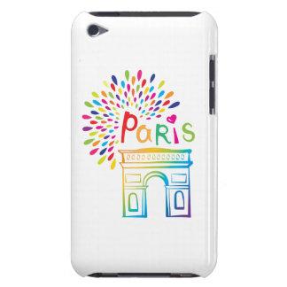 Paris France | Arc de Triomphe | Neon Design iPod Touch Case