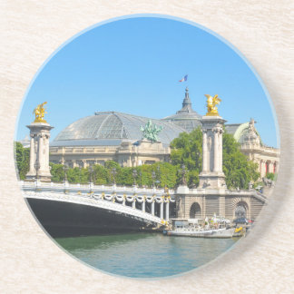 Paris, France Beverage Coasters