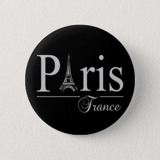 Paris France button