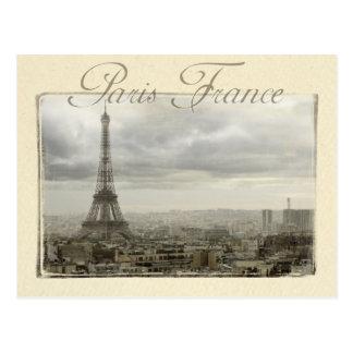 Paris France Carte Postale