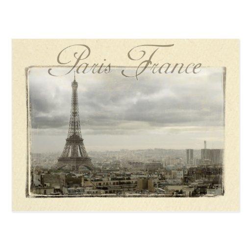 Paris France Cartes Postales
