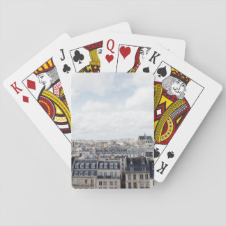 Paris France Cityscape Playing Cards