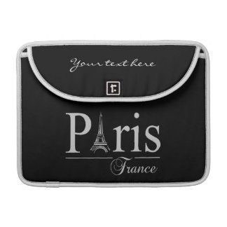 Paris France custom MacBook sleeve MacBook Pro Sleeve