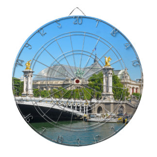 Paris, France Dart Board