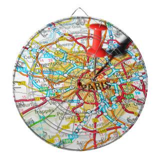 Paris, France Dartboard