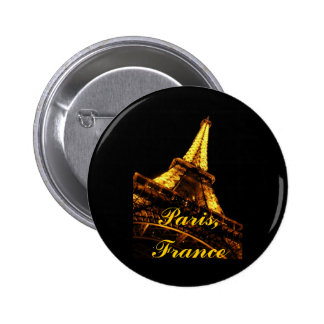Paris, France, Eiffel Tower, Button