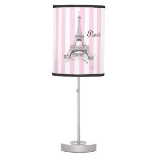 Paris France Eiffel Tower Desk Lamps