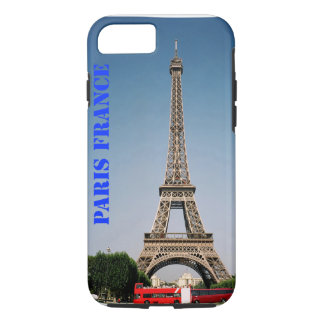 Paris France Eiffel Tower iPhone 7, Tough iPhone 7 Case