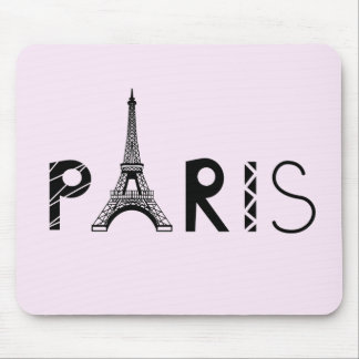Paris, France | Eiffel Tower Mouse Pad