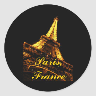 Paris, France, Eiffel Tower, Stickers