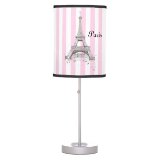 Paris France Eiffel Tower Table Lamp