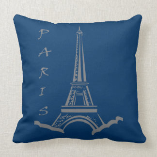 PARIS France Eiffel Tower Throw Pillow