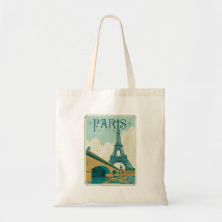 Paris France - Eiffel Tower Tote Bag