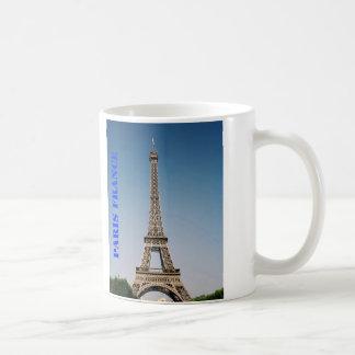 Paris France Eiffel Tower White 11 oz Classic Mug