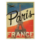 Paris, France - Flag Postcard
