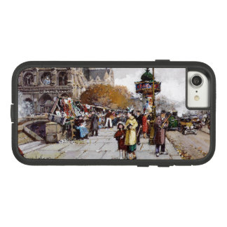 Paris France Impressionism Market iPhone 7 8 Case