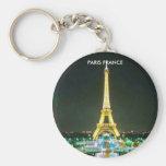 PARIS FRANCE KEYCHAIN
