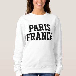 Paris France Ladies Sweater