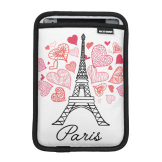Paris, France Love iPad Mini Sleeve