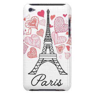 Paris, France Love iPod Touch Case-Mate Case