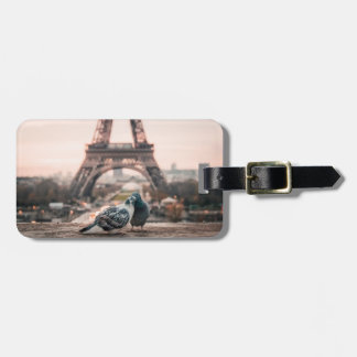 Paris, France luggage tag