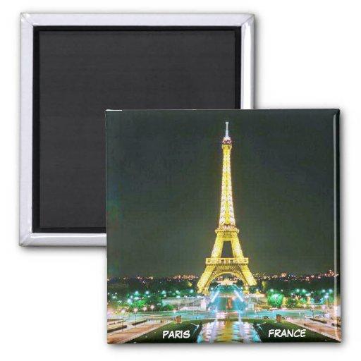 PARIS, FRANCE REFRIGERATOR MAGNET