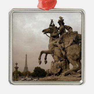 Paris, France Metal Ornament