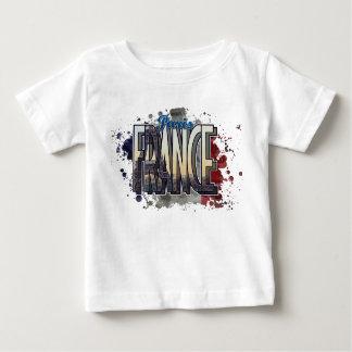 Paris, France Modern Art Design Baby T-Shirt