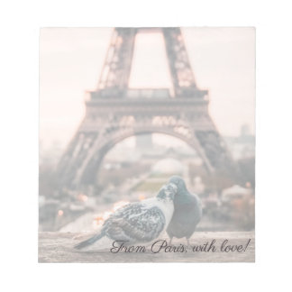 Paris, France notepad