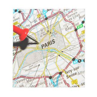 Paris, France Notepad