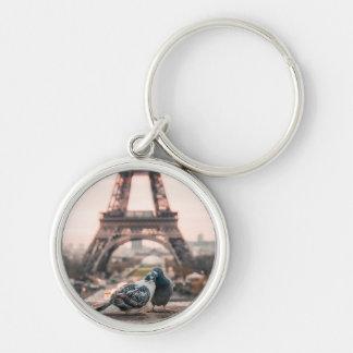 Paris, France papershop Keychain