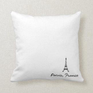 Paris, France Pilliow Throw Pillow
