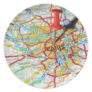 Paris, France Plate